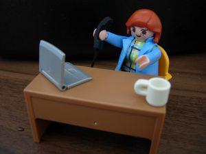 Büro Frau